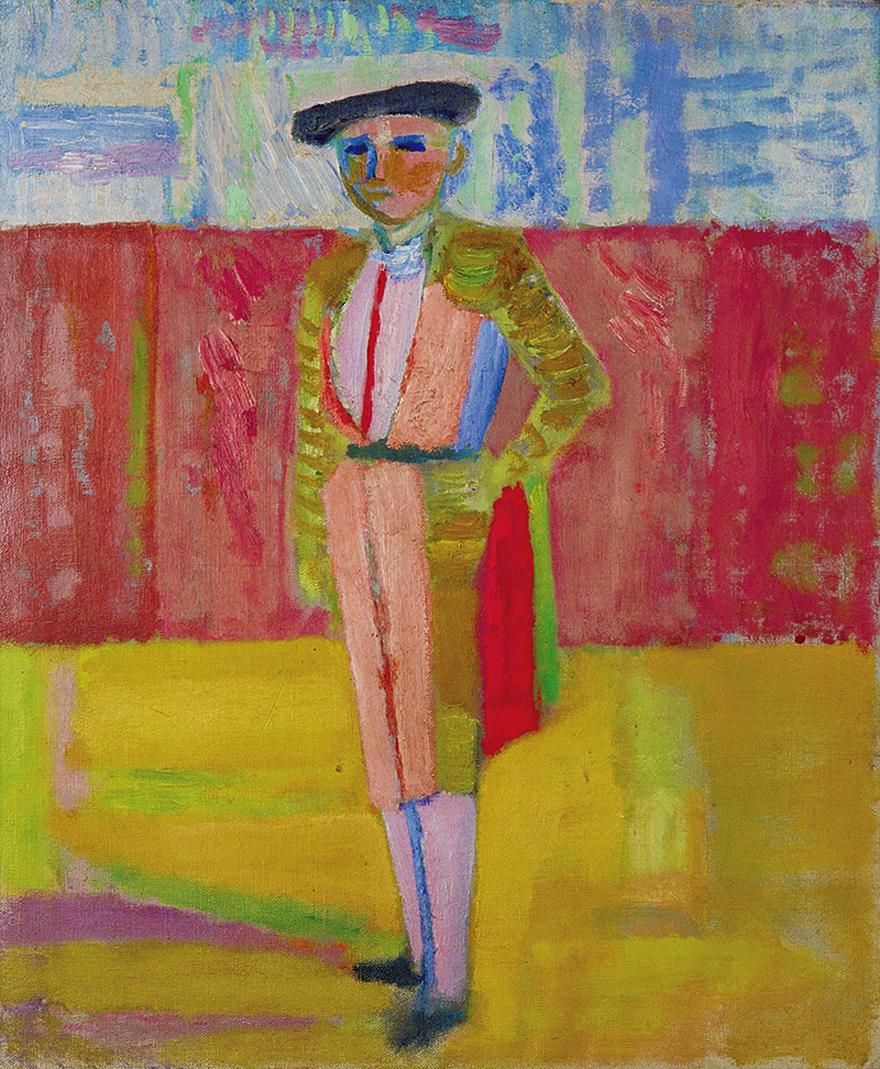 Артур Нахт-Самборський. Тореодор, 1939; олія, полотно