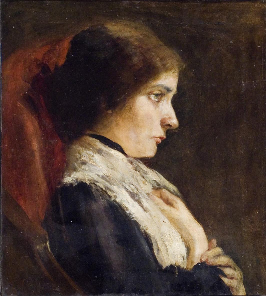 Гелена Мізес. Автопортрет, 1920; ЛНГМ