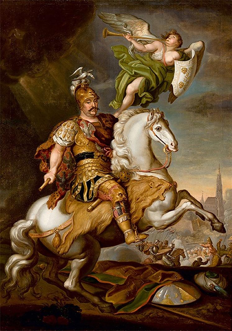 Єжи Шимонович. Ян ІІІ Собеський під Віднем, 1686; полотно, олія; NMW