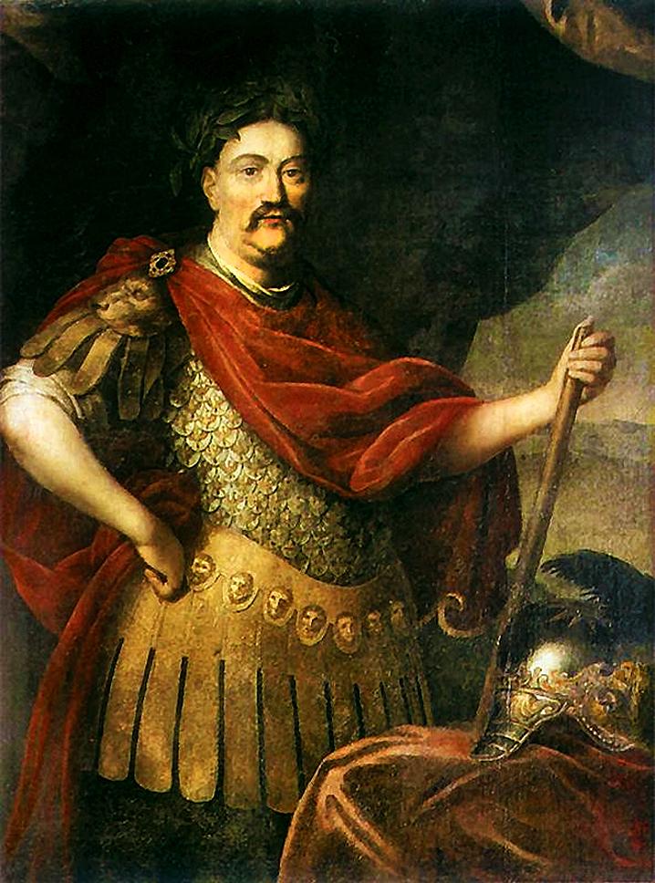 Єжи Шимонович. Ян ІІІ Собеський в римському костюмі, 1680