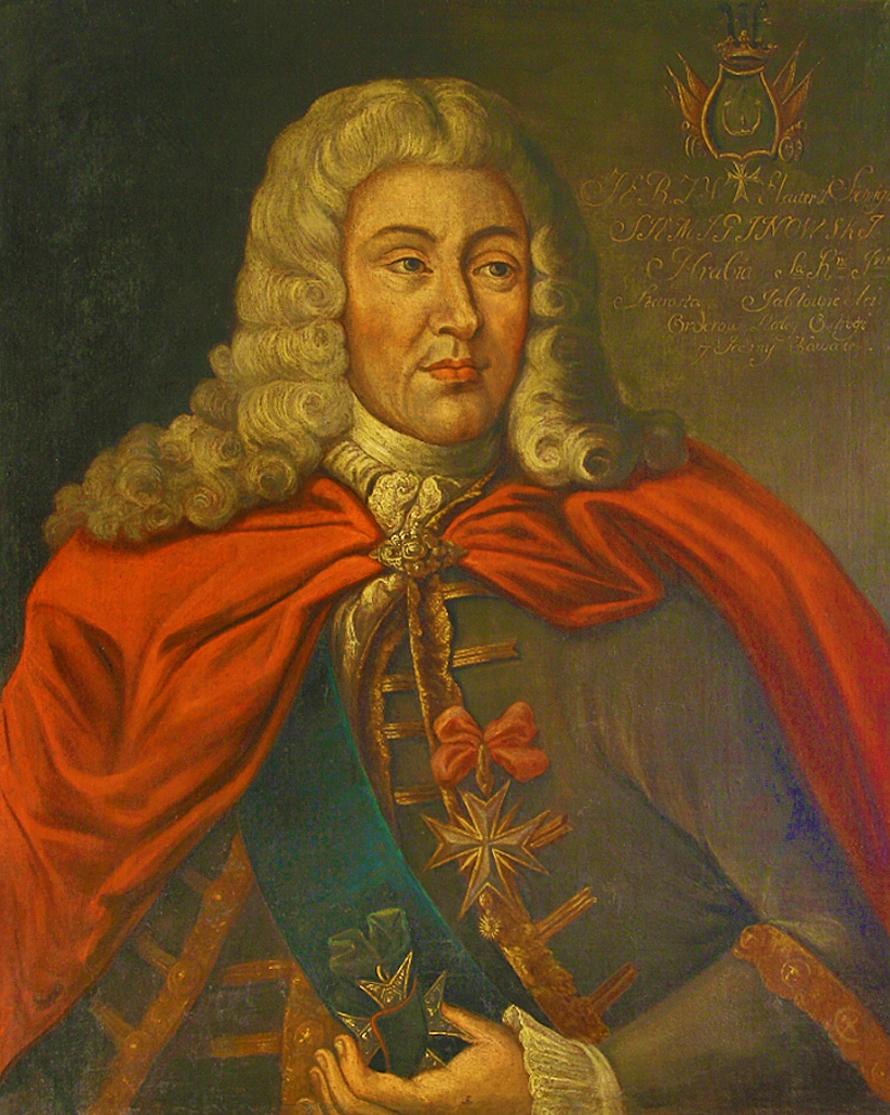 Єжи Шимонович. Автопортрет, 1710; полотно, олія