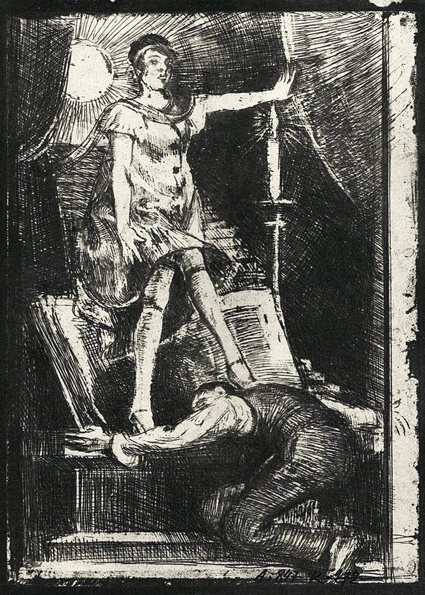 Бруно Шульц. Без назви, 1920-22; сliché-verre