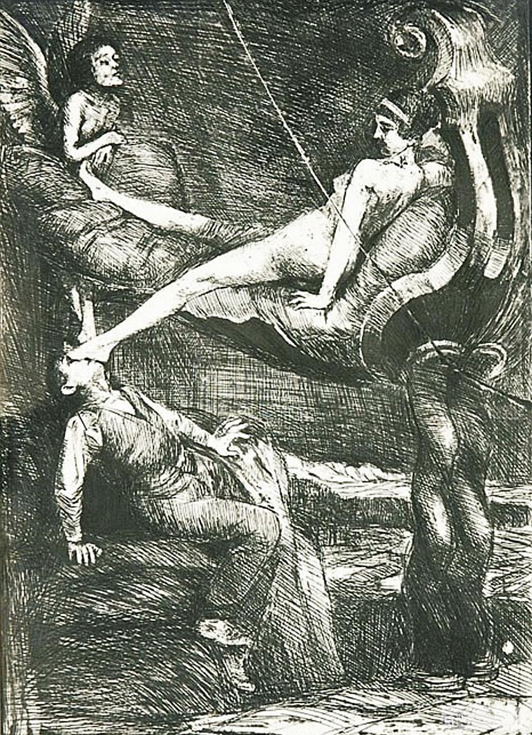 Бруно Шульц. Вічна казка, 1920-22; сliché-verre