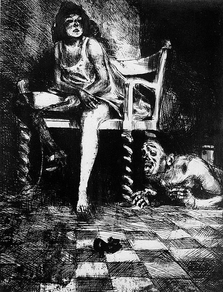 Бруно Шульц. Звір, 1920-22; сliché-verre