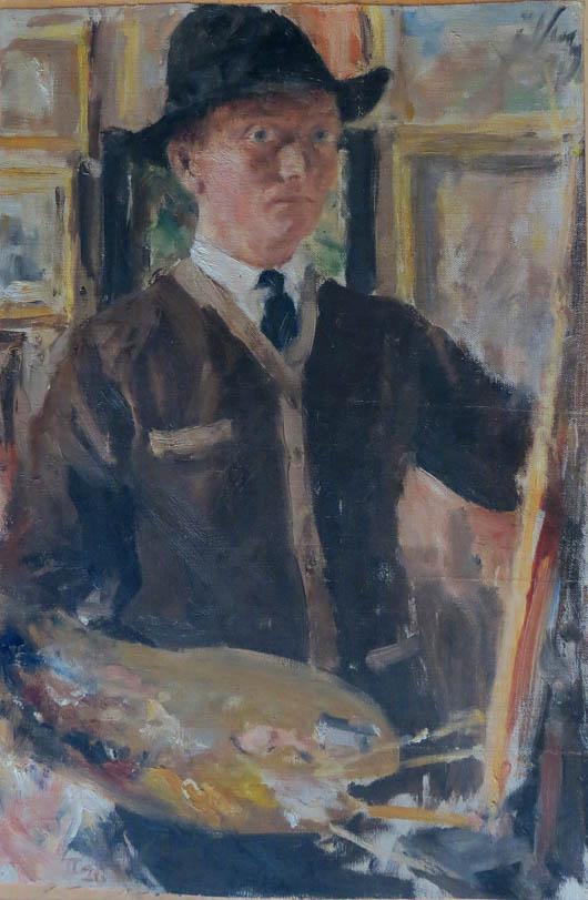 Мартин Кітц. Автопортрет, 1926