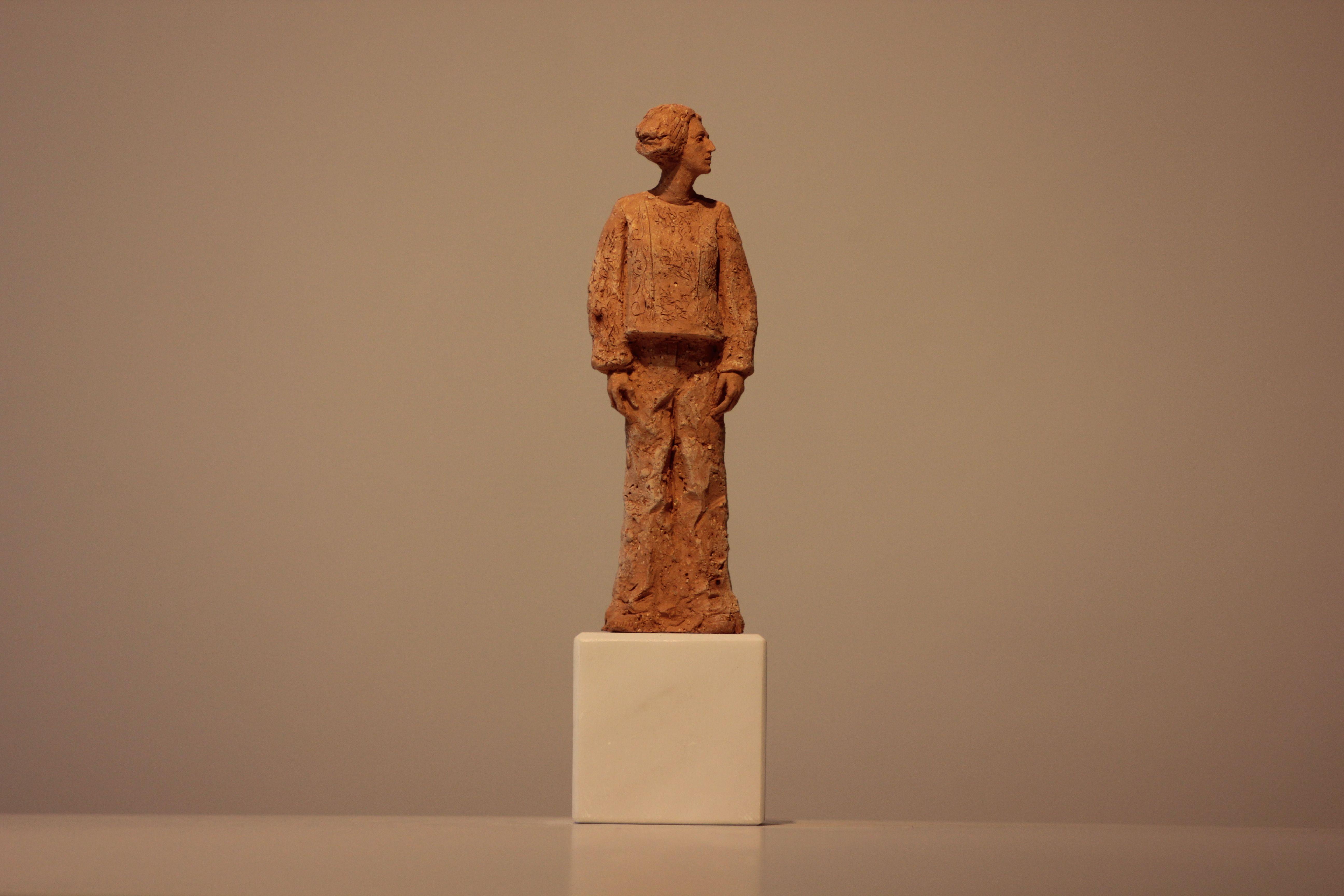 Денис Шиманський. БУМ 1, 2015; кераміка (шамот), мармур