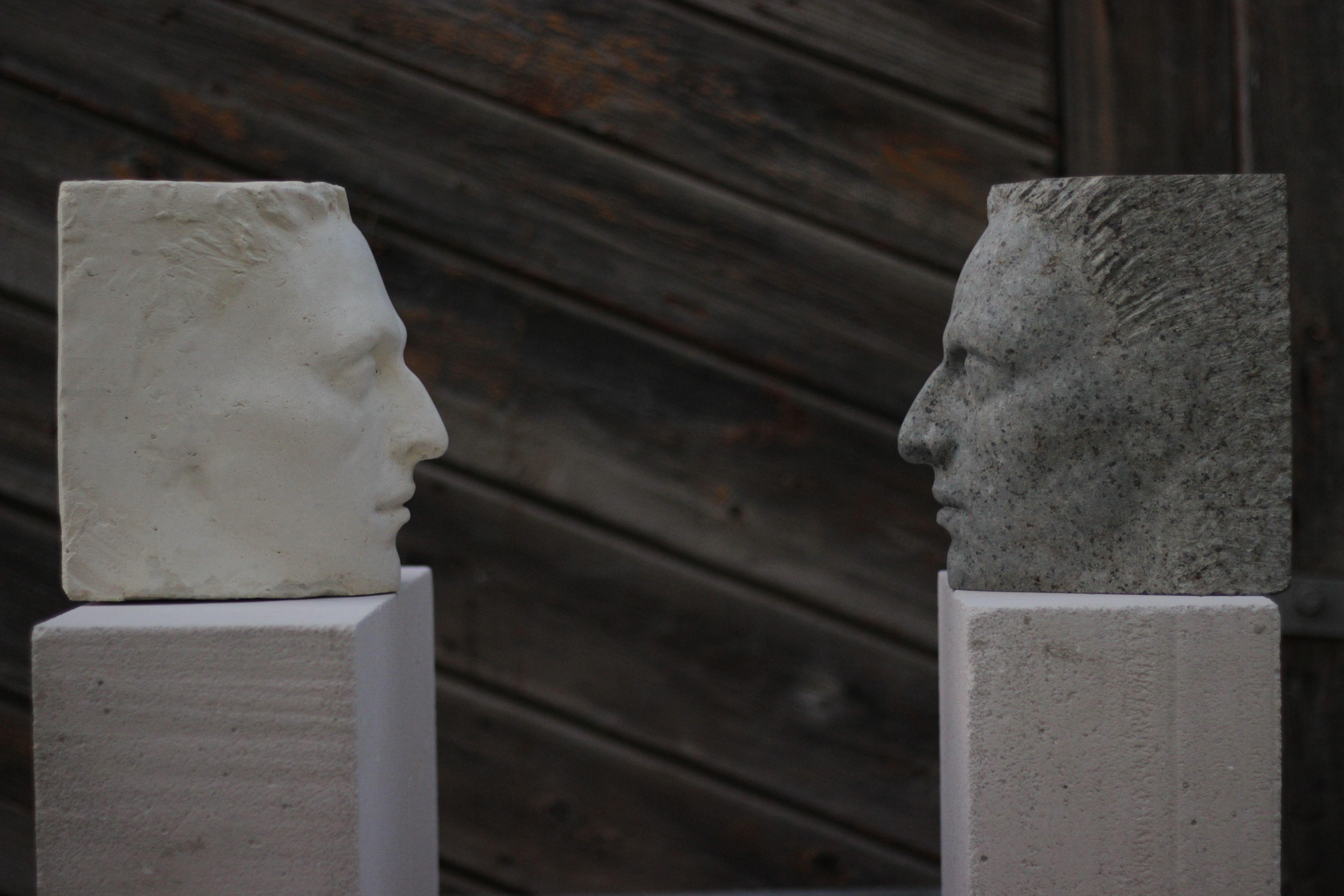 Денис Шиманський. Я є, 2019; граніт, штучний камінь, бетон