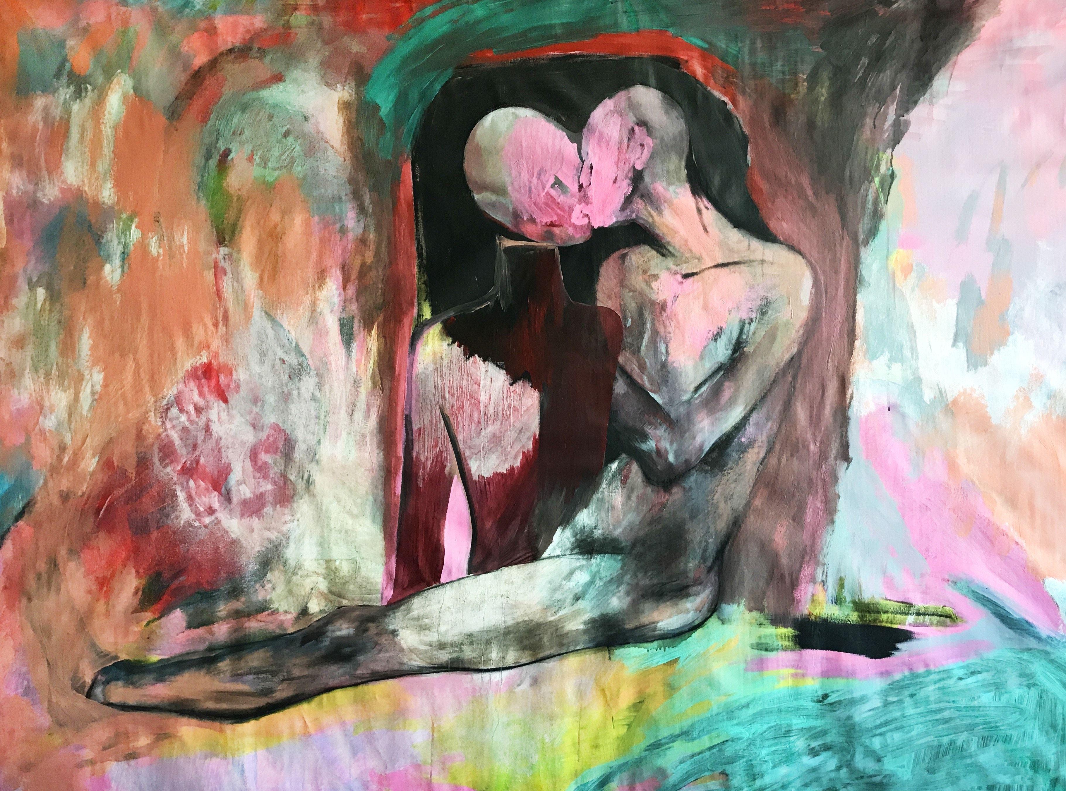 Ліза Жданова. Останній поцілунок, 150х200