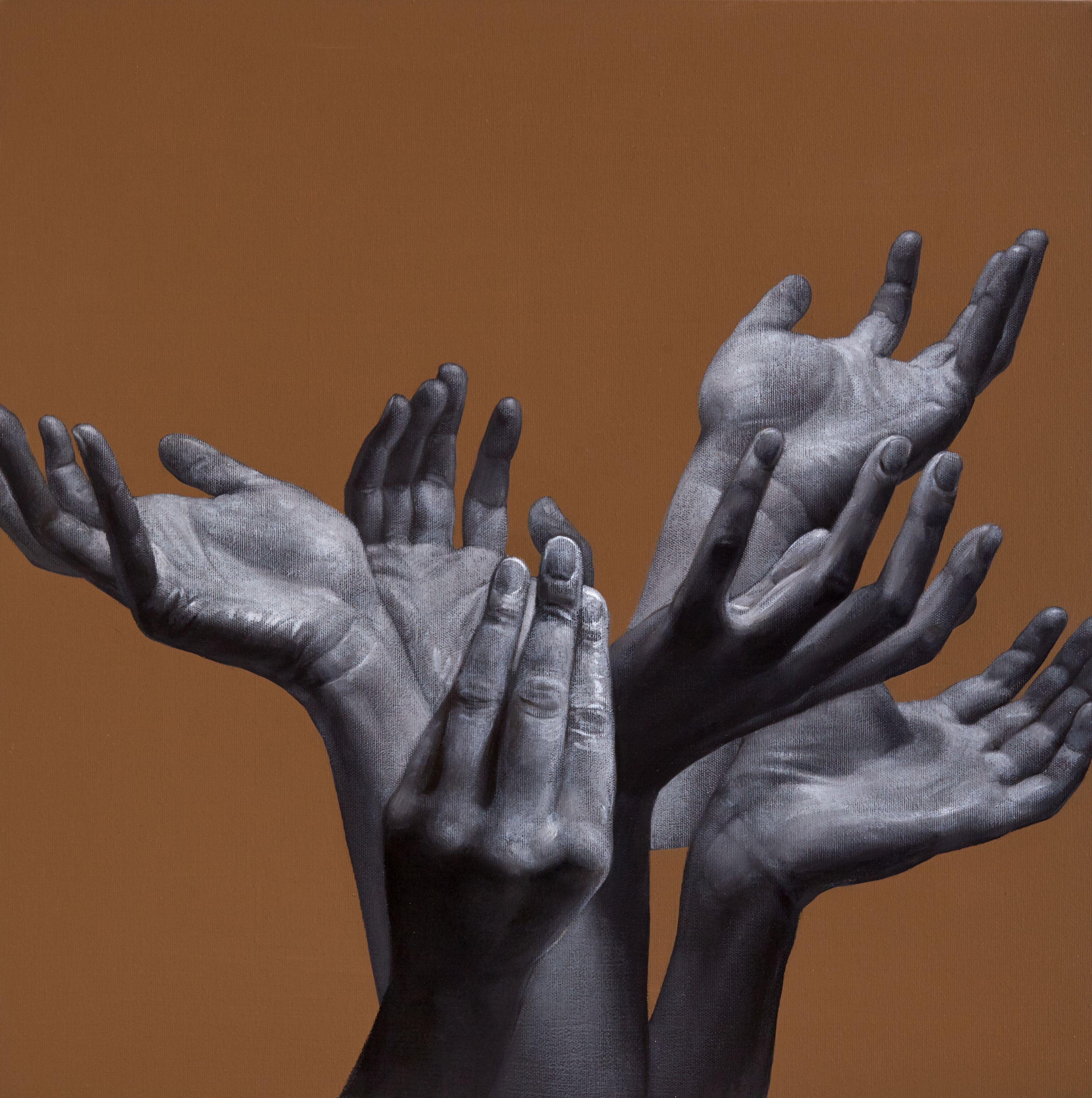 Юрій Коваль. Букет жіночий, 2017; акрил, олія на полотні, 60х60