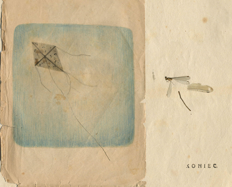 Євгенія Любчик. Кінець, 2019; цифровий колаж, колаж, рисунок, листівка, 10х15