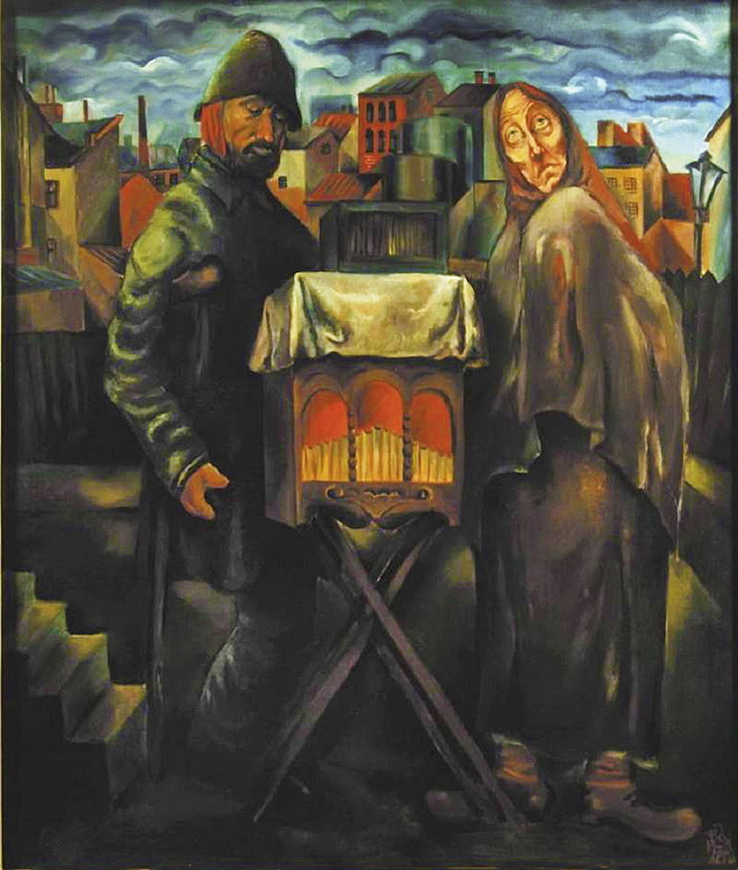 Фриц Кленйман. Катеринщик, 1933; олія, полотно