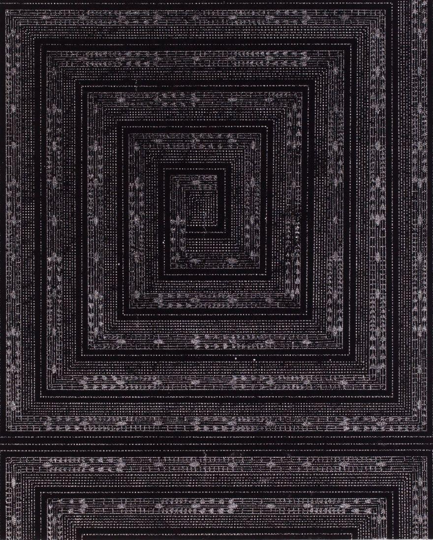 Антоніна Денисюк. Наступна рамка, 1993; рисунок на папері, туш, 100х70 см