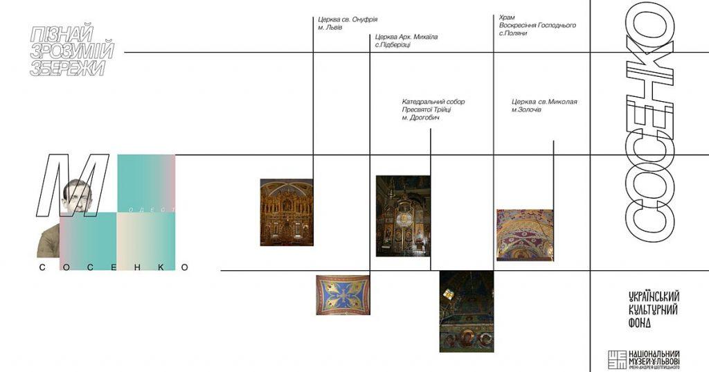 Розпочалось створення фотоархіву збережених стінописів та іконостасів Модеста Сосенка