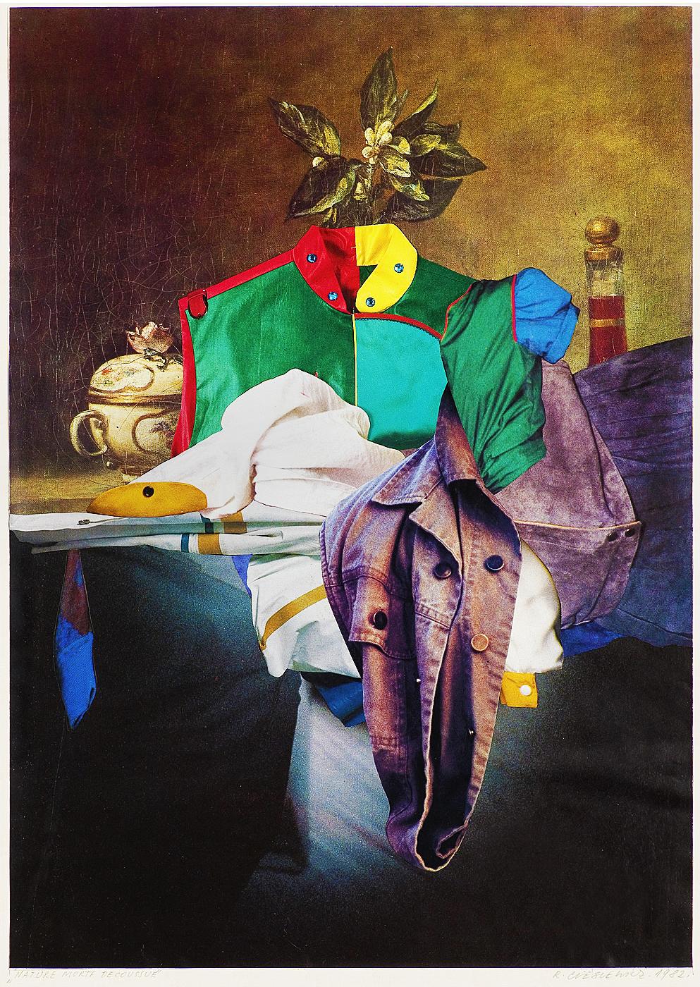 Роман Цеслевич. Образ натюрморта, 1982; колаж