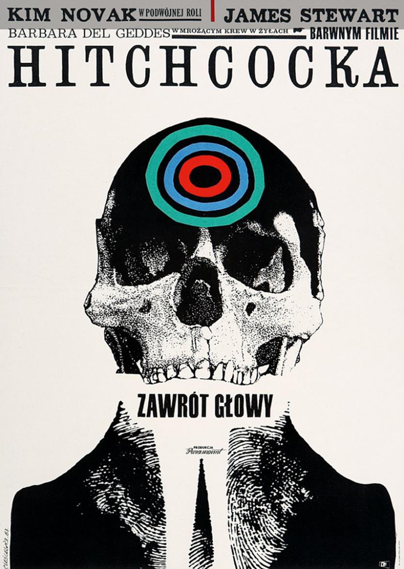 Роман Цеслевич. Фільм «Запаморочення», 1963; плакат