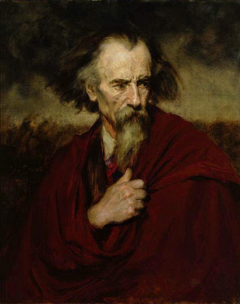 Ян Стика. Ернесто Марчі революціонер, 1906; олія на полотні,86х66 см; NMW