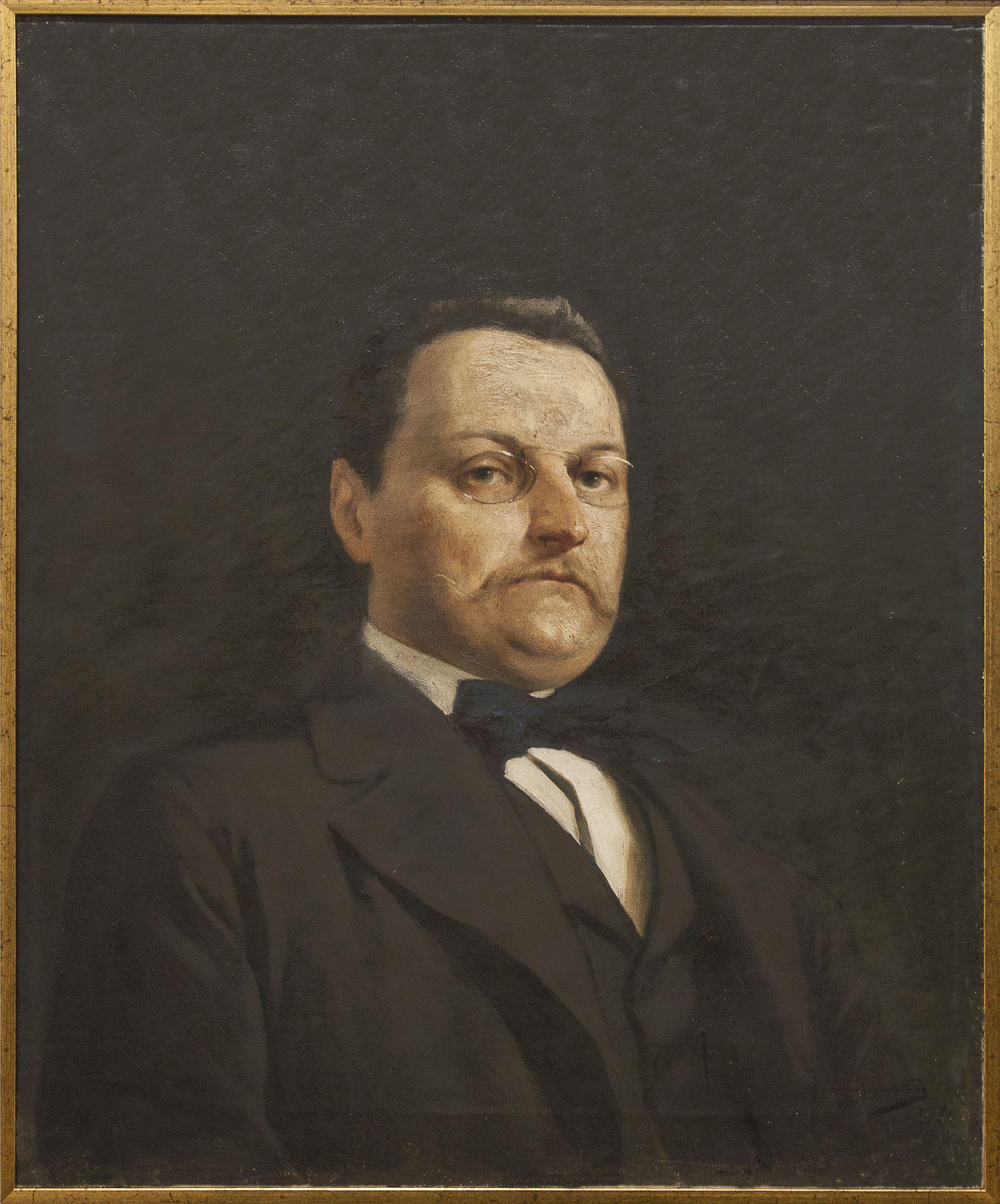 Марцелій Гарасимович. Станіслав Нєвядомський, 1897; олія на полотні; ЛНГМ