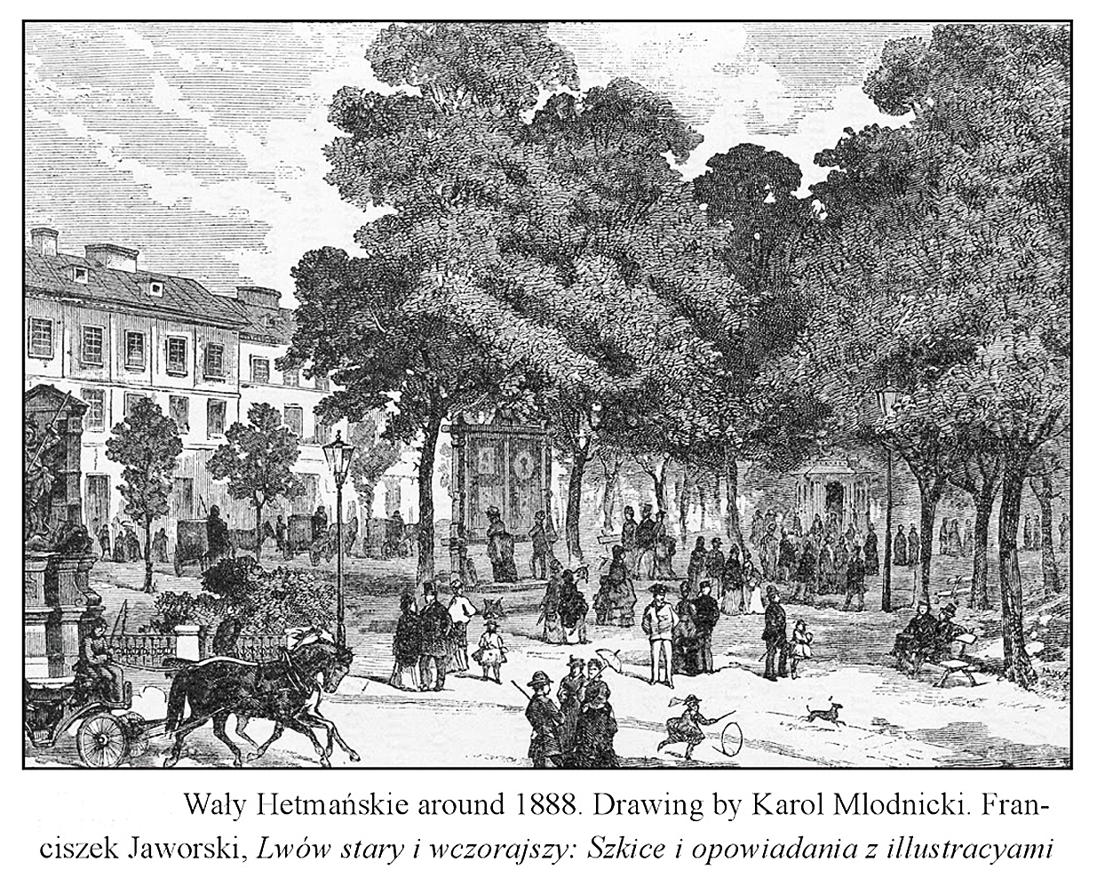 Кароль Млодніцький. Гетьманські вали, 1888