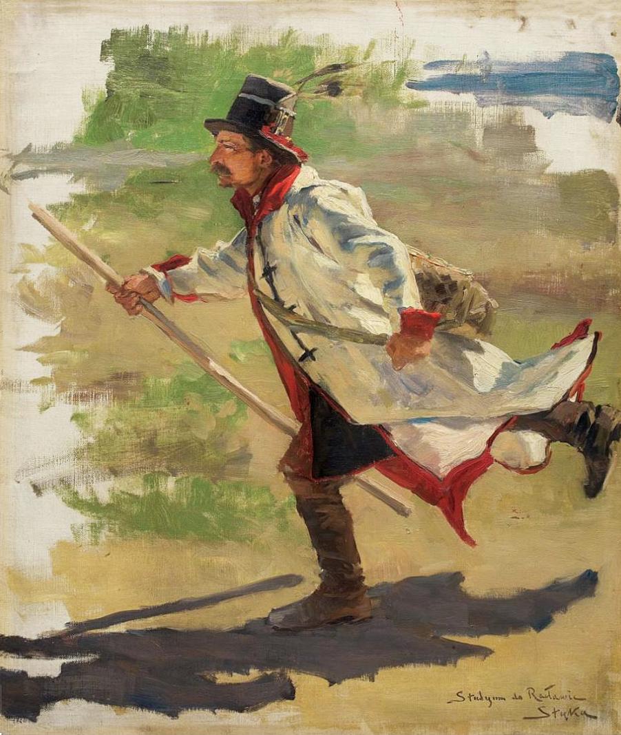 Атака. Фрагмент панорами, 1894
