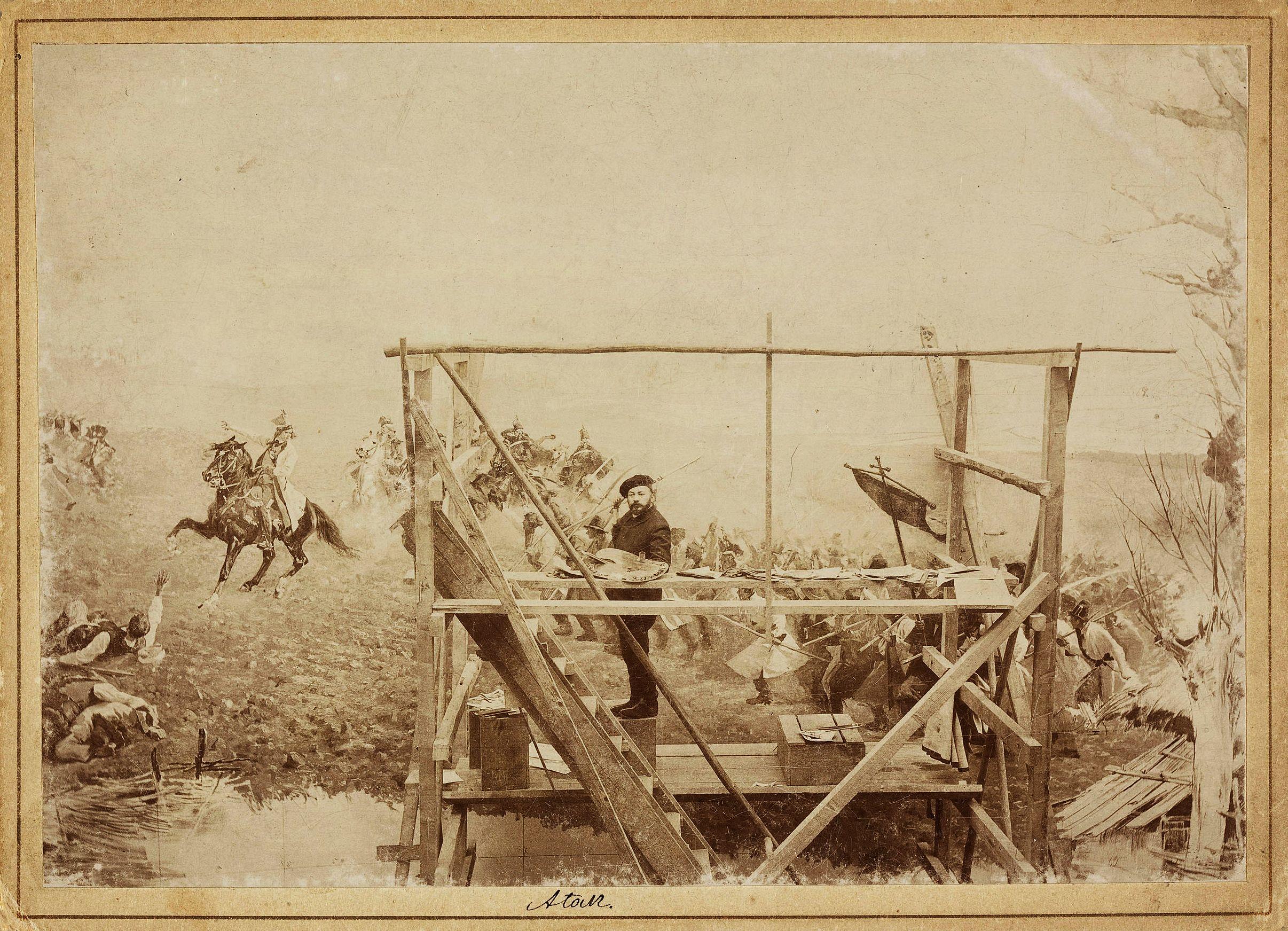 Ян Стика. Панорама Рацлавицька, 1894
