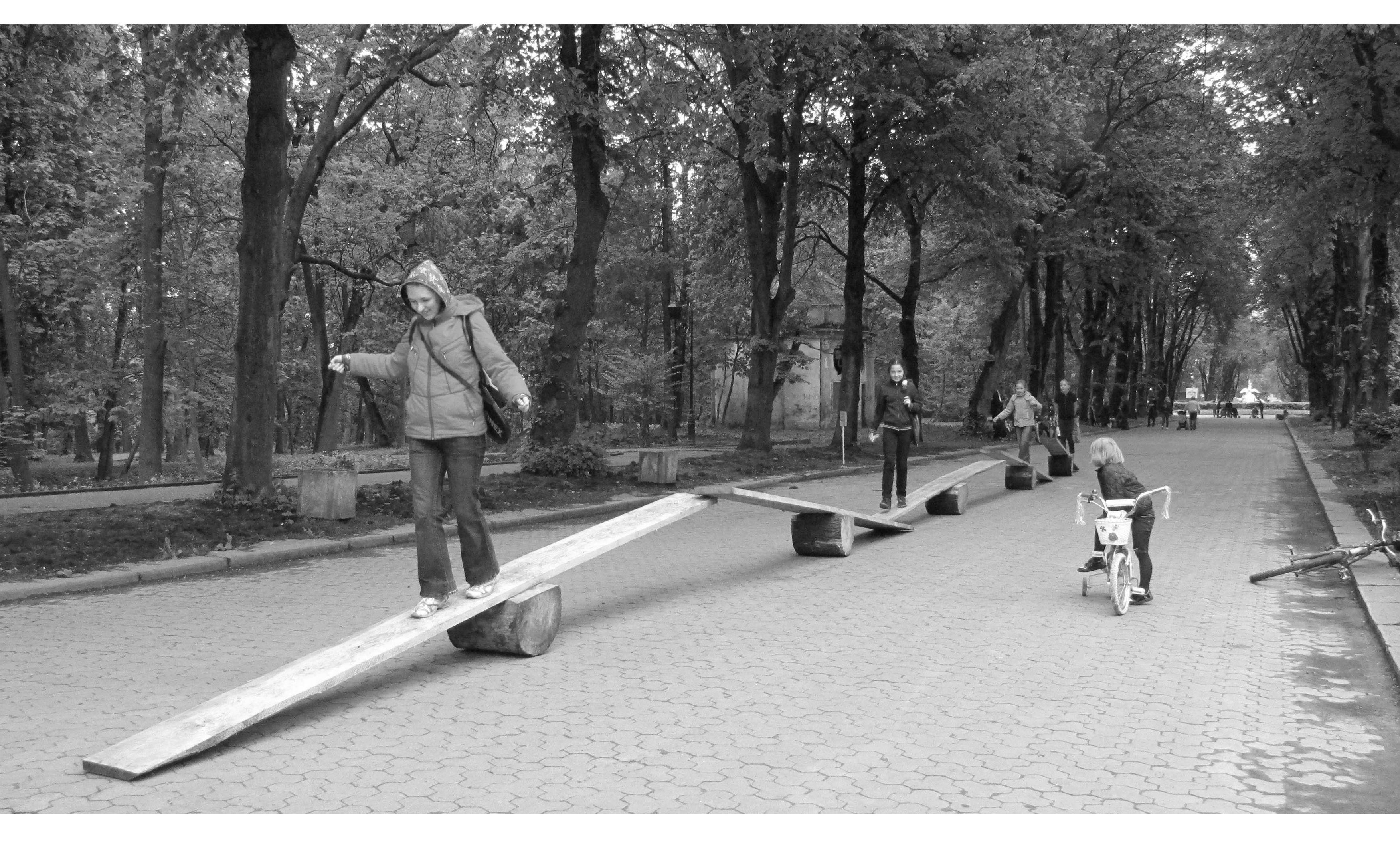 Анна Сидоренко. Артпроект Park.in до 130-річчя Стрийського парку, 2010