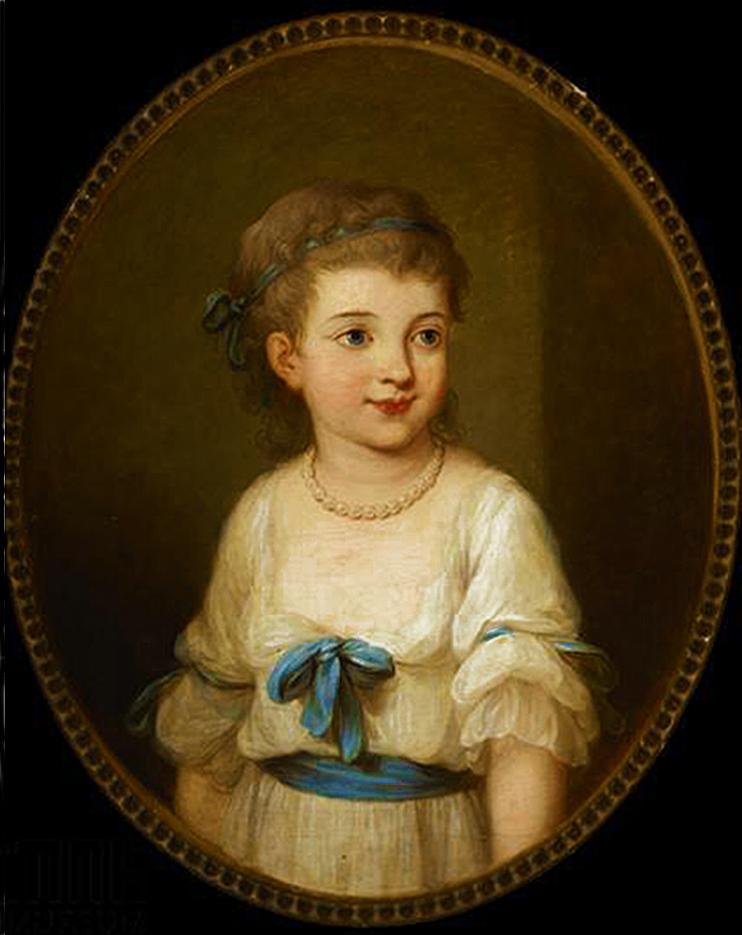 Юзеф Рейхан. Аполонія з Соколовських (Камінська), 1815, мініатюра