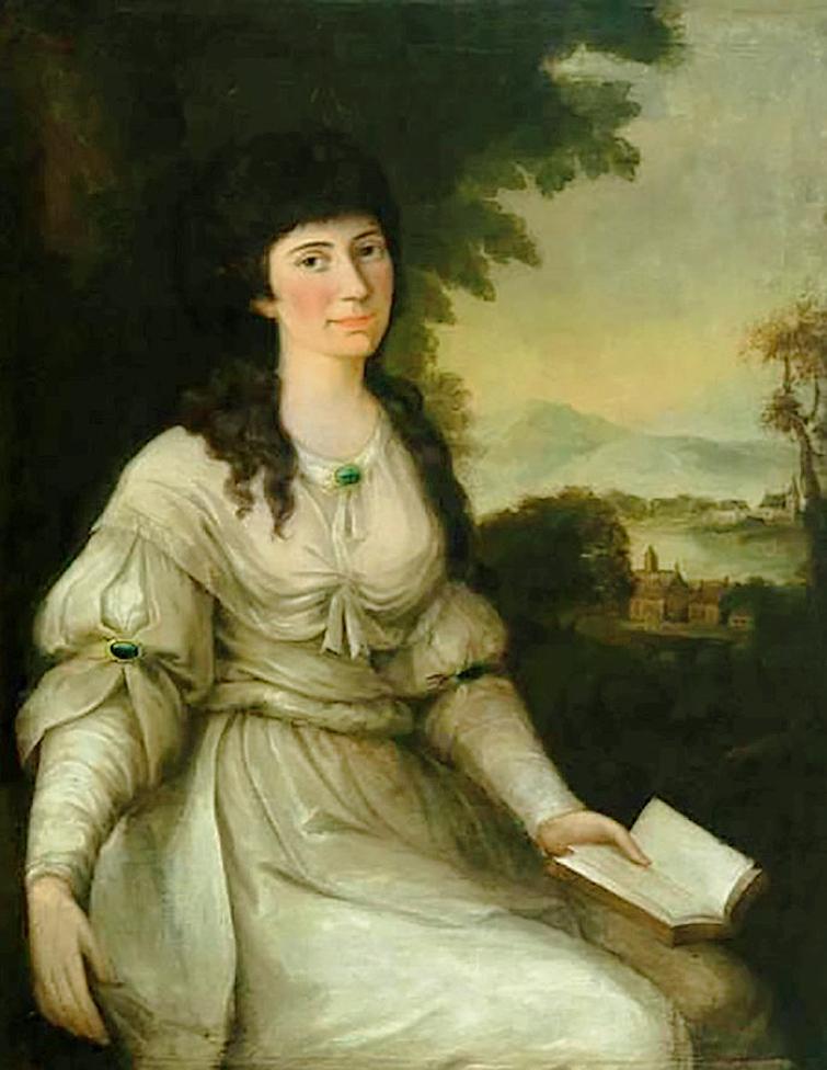 Юзеф Рейхан. Дама у білій сукні; олія на полотні; м-Кельц