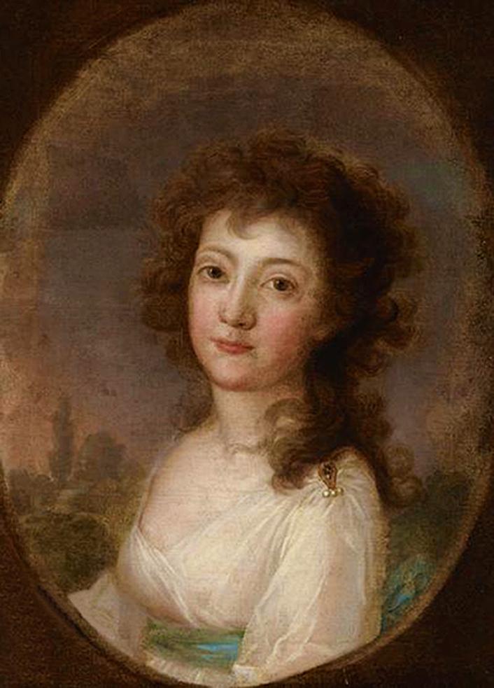 Юзеф Рейхан. Жіночий портрет, 1800; олія на полотні; NMK