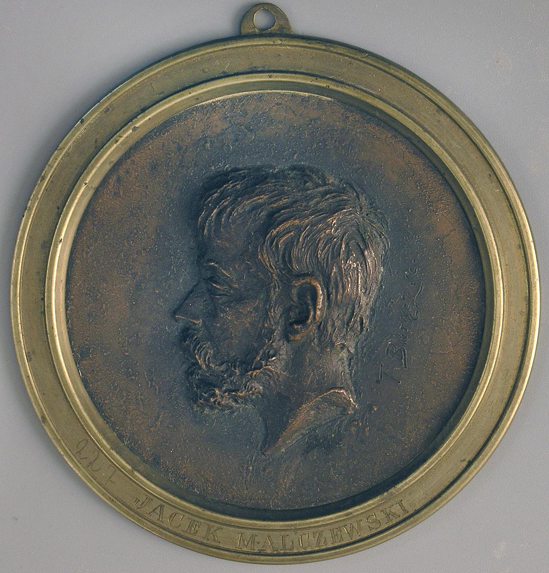 Тадеуш Баронч. Яцек Мальчевський, 1884; бронза