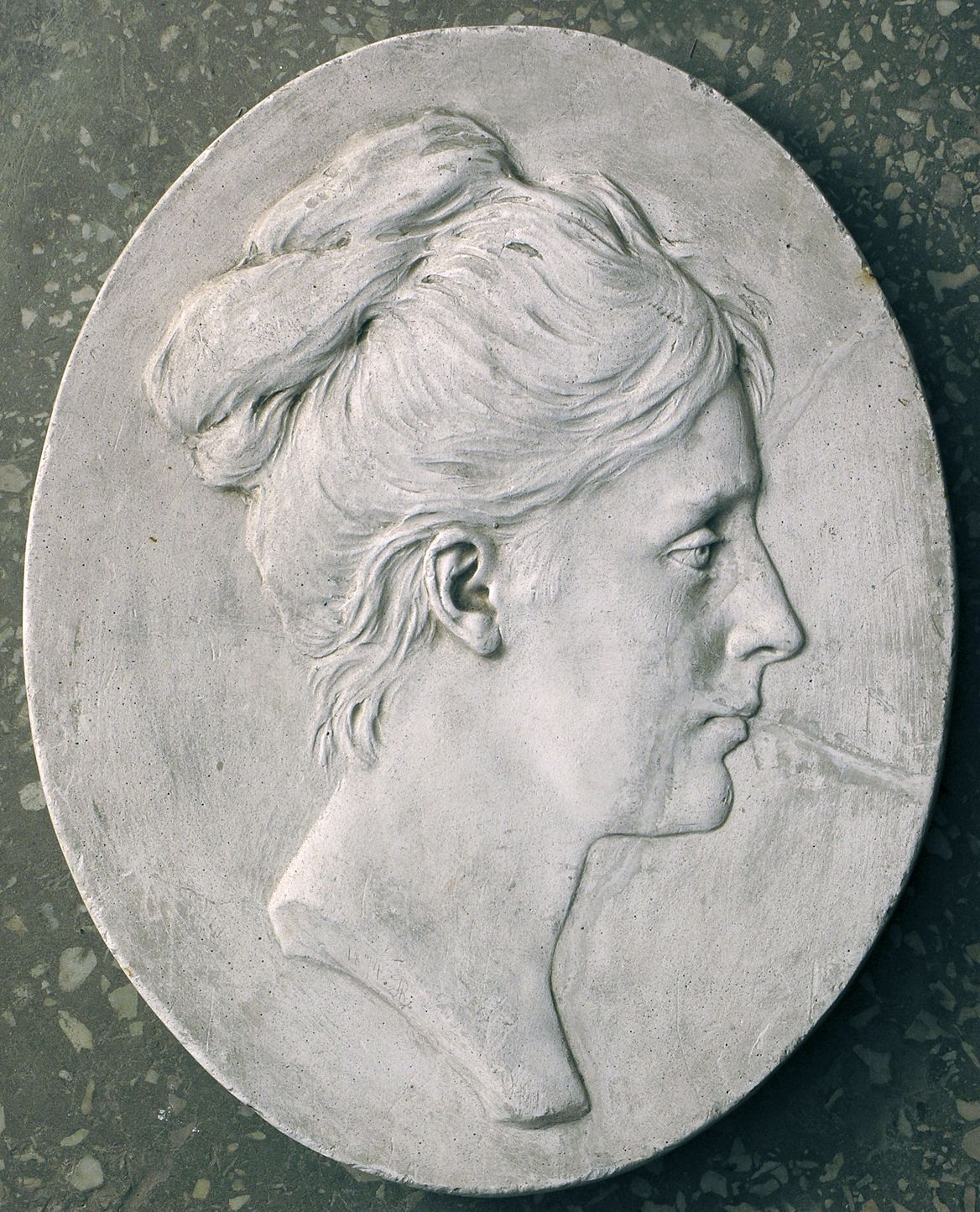 Тадеуш Баронч. Ядвіга Ліске-Лозинська, 1874; гіпс