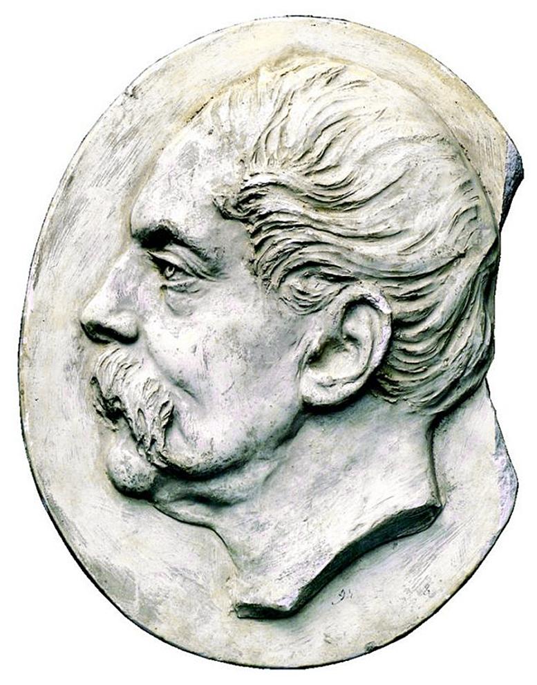 Тадеуш Баронч. Каетан Баронч, 1894; гіпс ЛНГМ