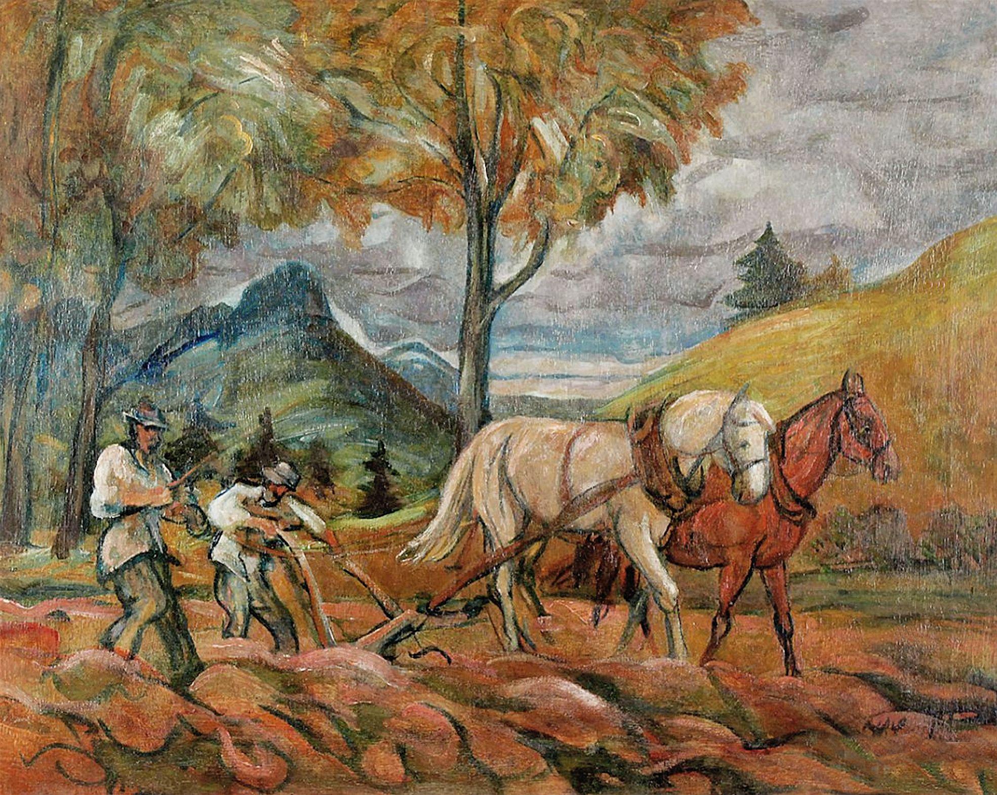 Генрик Лангерман. Оранка, 1931; олія, полотно