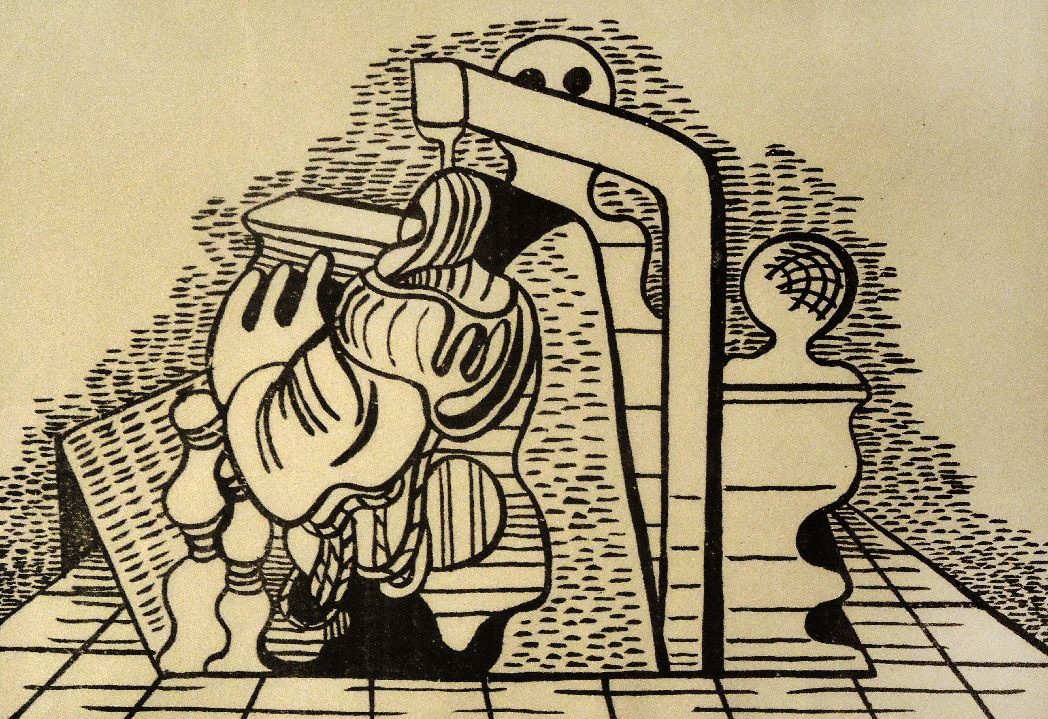 Александер Рімер. Форми, 1930; літографія