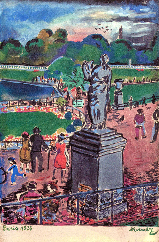 Александер Рімер. Париж, 1933; папір, гуаш